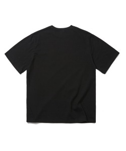 LOGO POCKET T-SHIRT(BLACK)_CRTZURS01UC6