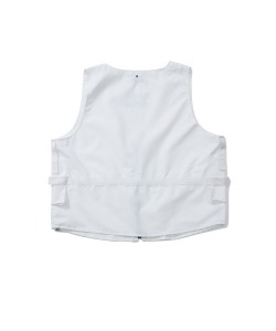 CRT NYLON POCKET VEST(WHITE)_CRTZUVT01UC2