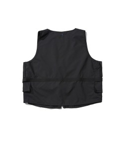 CRT NYLON POCKET VEST(BLACK)_CRTZUVT01UC6