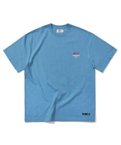 KFC X CRITIC RICH DADDY T-SHIRTS(DEEP BLUE)_KFTZURS01UB6