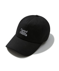 APPLE FULL LOGO BALL CAP(BLACK)_CRTZUHW05UC6