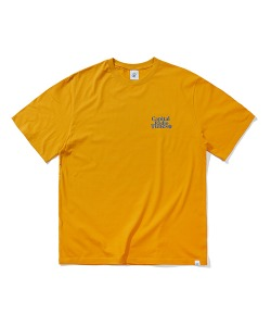 CRT APPLE FULL LOGO T-SHIRT(YELLOW)_CRTZURS03UY0