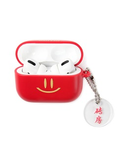 HAPPY FOOD X CRITIC SMILE AIRPODS PRO CASE(RED)_HFTZUAP01UR0
