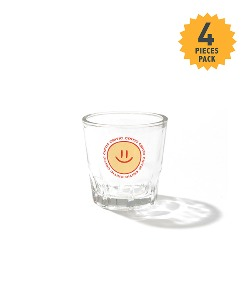 HAPPYFOOD X CRITIC SMILE SHOT GLASS(WHITE)_HFTZUAC04UC2
