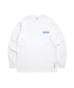 FRAGILE LOGO LONG SLEEVE(WHITE)_CRTZARL04UC2