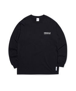 FRAGILE LOGO LONG SLEEVE(BLACK)_CRTZARL04UC6