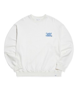 APPLE FULL LOGO SWEATSHIRT(WHITE)_CRTZICR01UC2