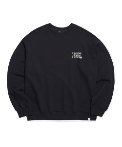 APPLE FULL LOGO SWEATSHIRT(BLACK)_CRTZICR01UC6