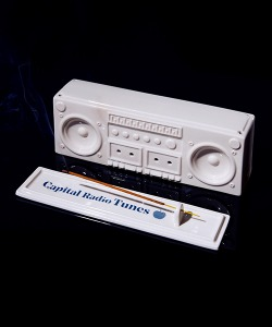 BOOMBOX INCENSE CHAMBER(OFF WHITE)_CRTZIIH01UC2