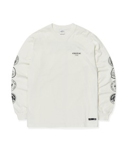 SCOUTS EMBLEM LONG SLEEVES(WHITE)_CTTOPRL04UC2