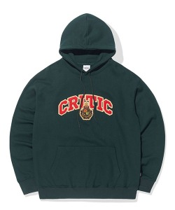 PATCH LOGO HOODIE (DEEP GREEN)_CTTOPHD02UG1