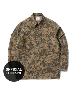 COMBAT SHIRT JACKET(CAMO)_CTOGAJK04UK1