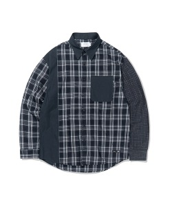 CHECK BLOCK SHIRTS(BLACK)_CTTZALS02UC6
