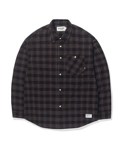 POCKET CHECK SHIRTS(BLACK)_CTTOPLS01UC6