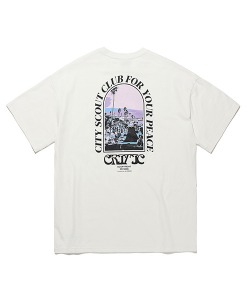 FOR YOUR PEACE T-SHIRTS(WHITE)_CTTOURS15UC2